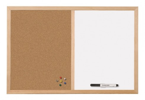 Magnet-Pinn-Tafel, Memotafel (60 x 40 cm)