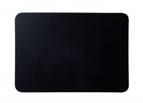 Handliche Kreidetafel mit schwarzer Oberfläche, rahmenlos, 30 x 21 cm