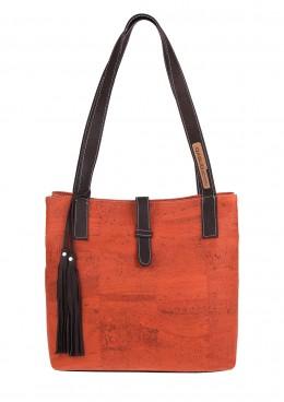 Korkhandtasche, Umhängetasche Yves von Q-Sub, in 3 verschiedenen Farben