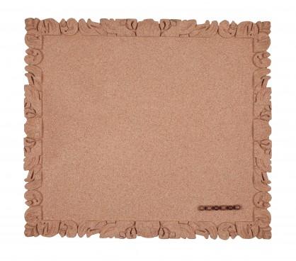 Pinnwand, Korkpinntafel, rahmenlos, 39 x 44 cm