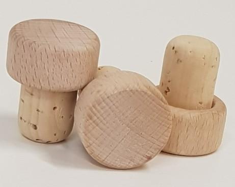 Holzgriffkorken Natur